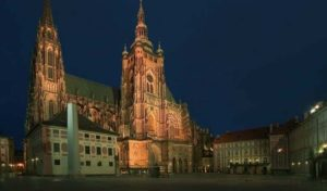 Prague Castle after Dark